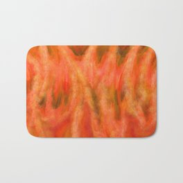 Fairy Fire Abstract Bath Mat