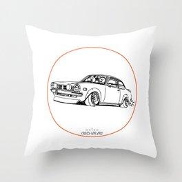 Crazy Car Art 0190 Throw Pillow