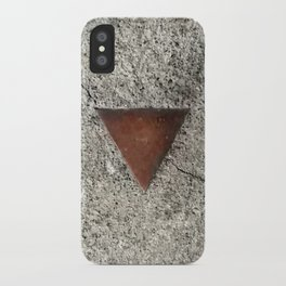Granite Triangle iPhone Case