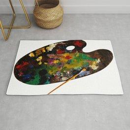 Colour pallet Rug