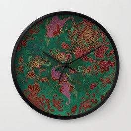 Chrysanthemum Garden Wall Clock