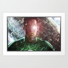 The Green Lantern  Art Print
