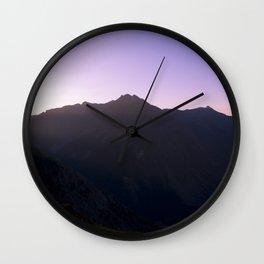 Weminuche Wanderland - Silverton CO Wall Clock