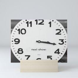 Clock Mini Art Print