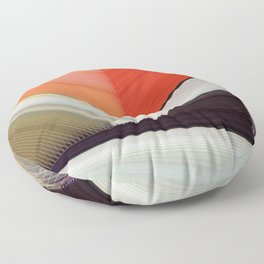 Mondrian Rearranged Floor Pillow