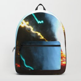 Abstract Downtown Flow - Light Painting Backpack