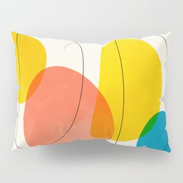 Jellybean Acid Fingerprints Pillow Sham