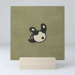 Rolly Polly Panda Bear Mini Art Print