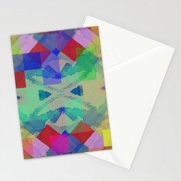 Spring Pattern  Stationery Cards
