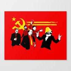 The Communist Party (original) Canvas Print