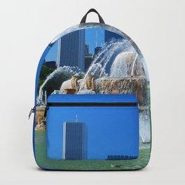 Buckingham fountain Backpack