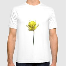 Narcissus Mens Fitted Tee MEDIUM White