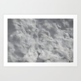 textured wall for background and texture Art Print