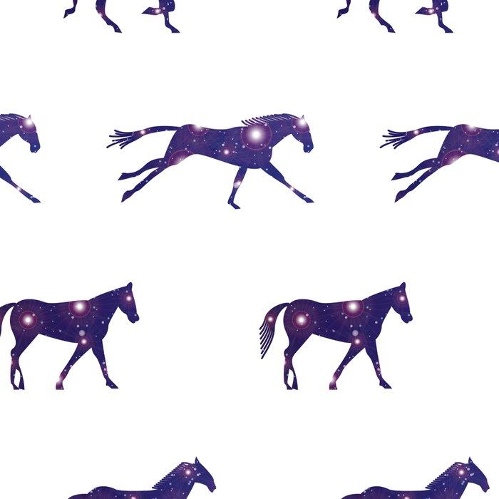 A Universe horse Runs_A Leggings