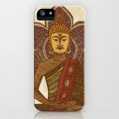 Sitting Buddha iPhone (5, 5s) Slim Case