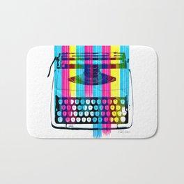 Typewriter Bath Mat