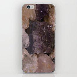 Quartz Cluster iPhone Skin