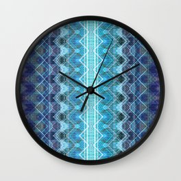 Aqueous Geometry Wall Clock