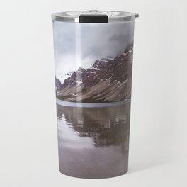 Bow Lake Overcast Travel Mug