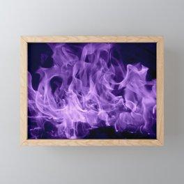 Magic Flames Framed Mini Art Print