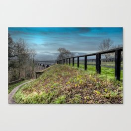 Welsh Aqueduct Canvas Print