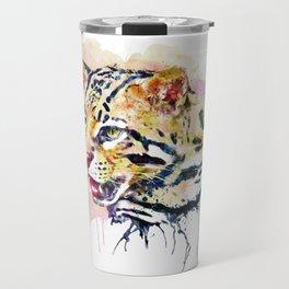 Ocelot Head Travel Mug