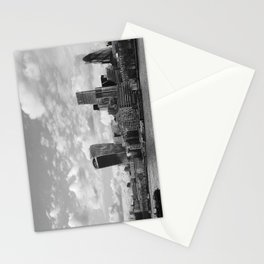 London Skyline on the River Thames Stationery Cards
