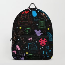 Tasting the Magic - Black Backpack