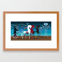 Charioteer Framed Art Print
