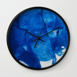 The blue goddess Wall Clock
