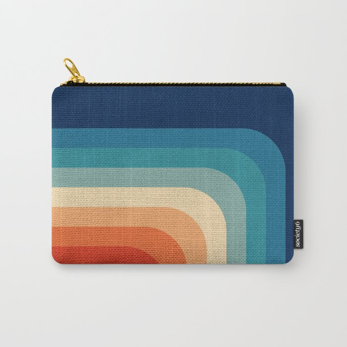Retro 70s Color Palette III Carry-All Pouch
