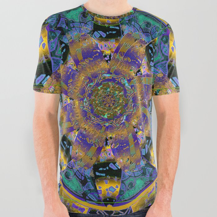 Purple_Gold_Dream_Catcher_Mandala_All_Over_Graphic_Tee_by_Michele_Avanti__Large