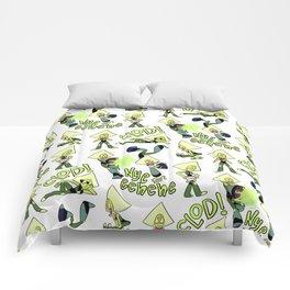 P-dot Pattern Light Comforters