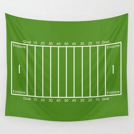 Football Field design Wall Tapestry