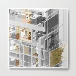 Toronto/Damascus 2/2 Metal Print