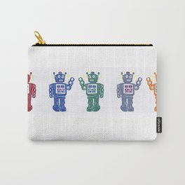 Toy Robot Parade Carry-All Pouch