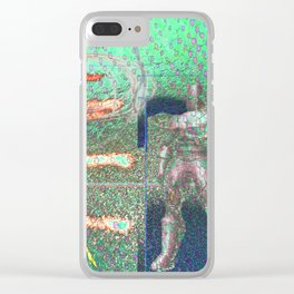 Potted Meat Man Goes Bonkers Clear iPhone Case