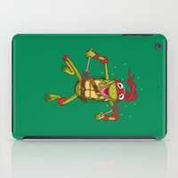 muppet iPad Cases featuring TEENAGE MUPPET NINJA PUPPET by T.a. Bryant