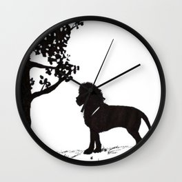 genus Panthera Wall Clock