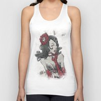 """burlesque Tank Tops featuring BURLESQUE by """"dfrnt"""""""