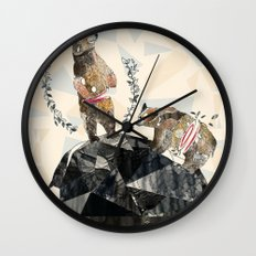 my love's another kind Wall Clock