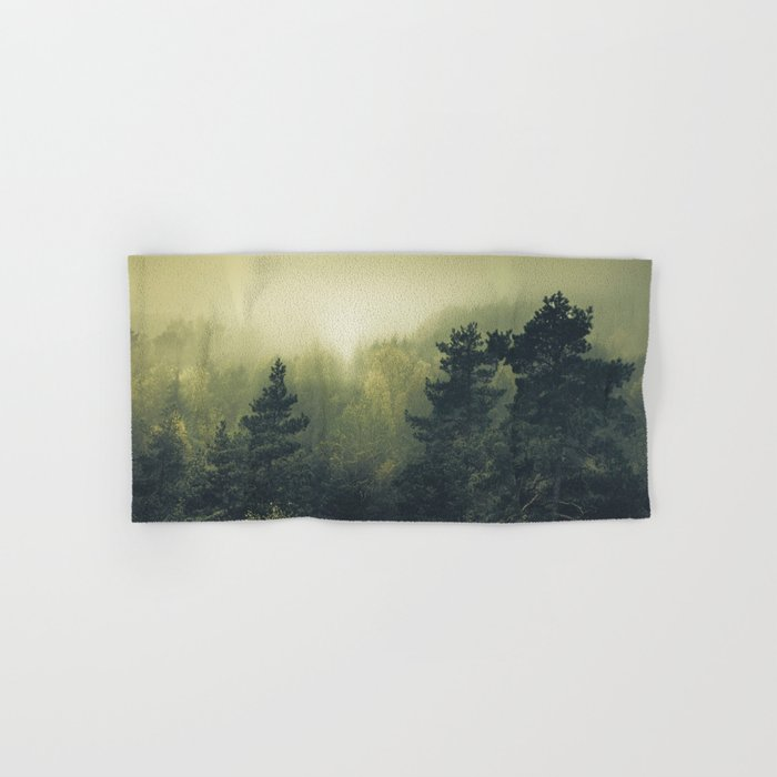 Forests never sleep Hand & Bath Towel