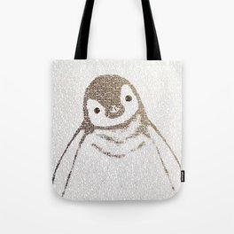 The Little Intellectual Penguin Tote Bag