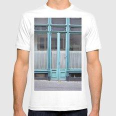 Blue door Mens Fitted Tee White MEDIUM