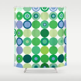 Circles of Luck Shower Curtain