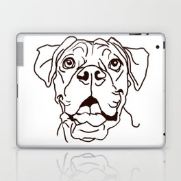 The Boxer Dog Love of my Life Laptop & iPad Skin
