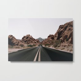 Road Trip / Valley of Fire Metal Print