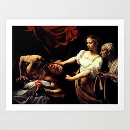 Judith Beheading Holofernes Kunstdrucke