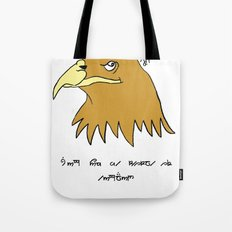 The Eagle and England Tote Bag