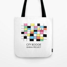 CITY BOOGIE  by ISHISHA PROJECT Tote Bag